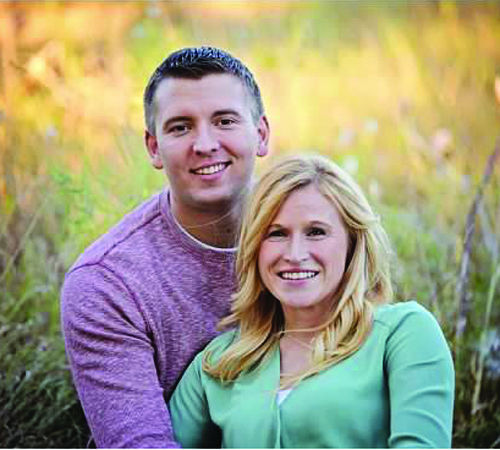 Katie Schoen and Bryce Arp