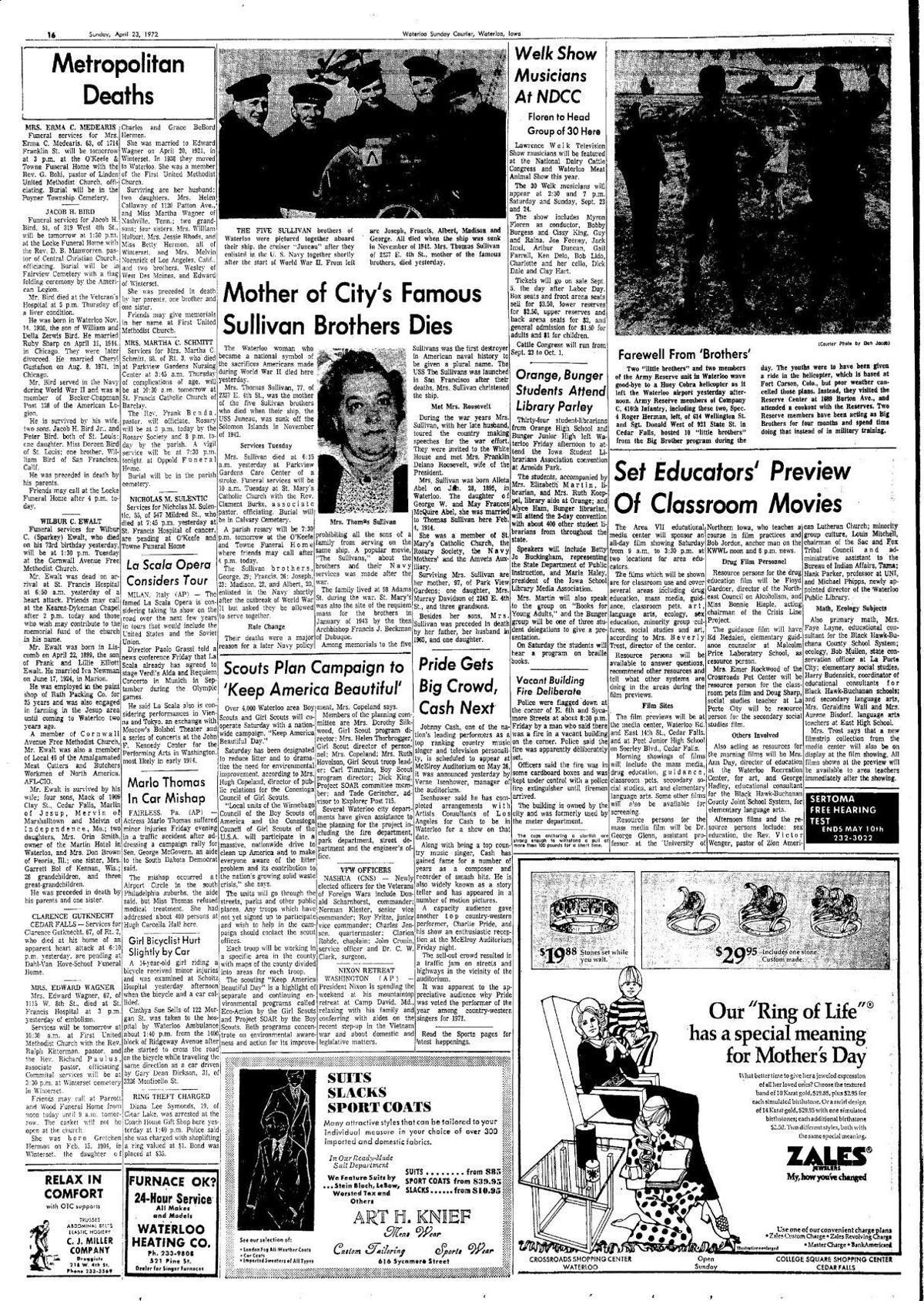 Courier April 23, 1973