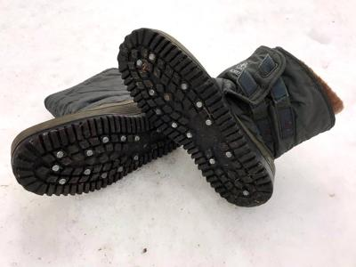 Icefishing boots