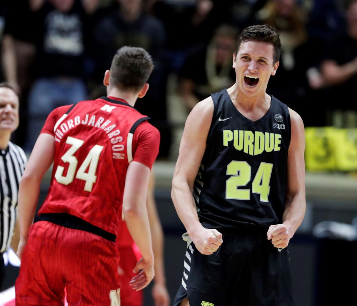 Nebraska Purdue Basketball