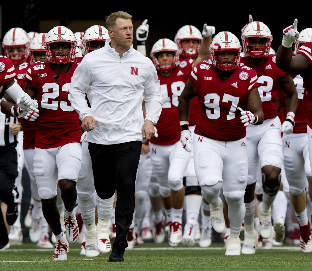 Photos: Nebraska football head coach Scott Frost