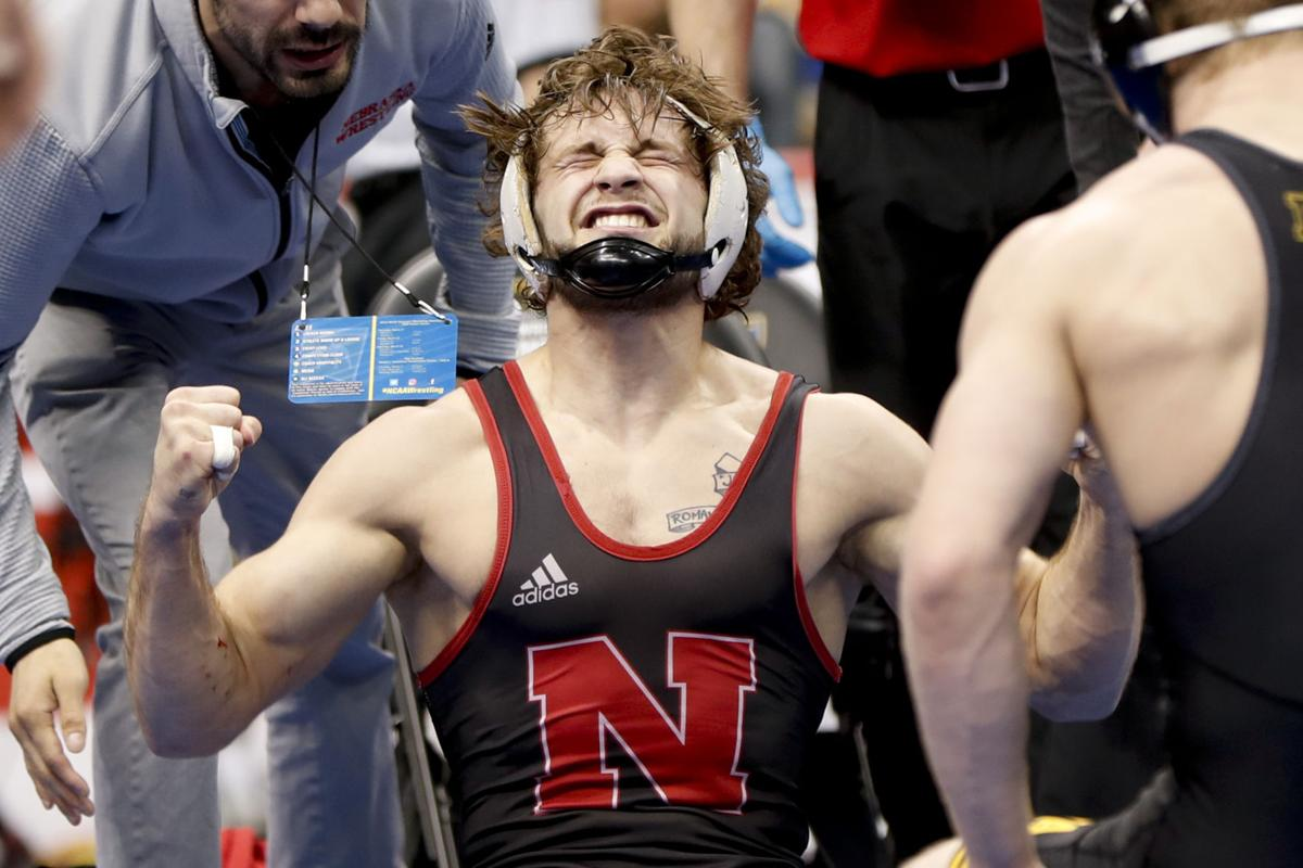 906431a3 Berger falls short of title quest in NCAA finals | Huskers ...