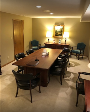 Fox Funeral Home Meeting Room