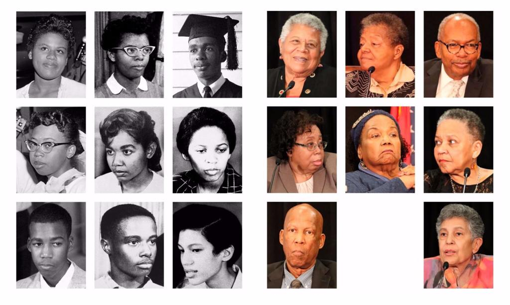 e86d934fe7c3 60 years later  Profiles of the Little Rock Nine who integrated ...