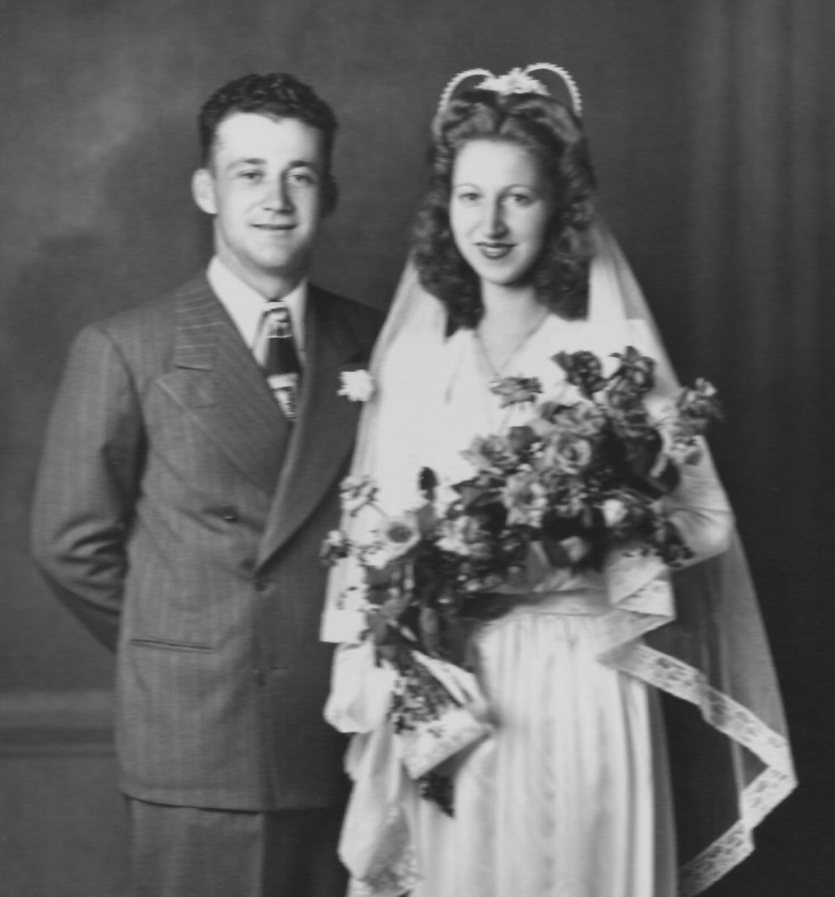 Happy 70th Anniversary to Russell & Meryl Zimmerman