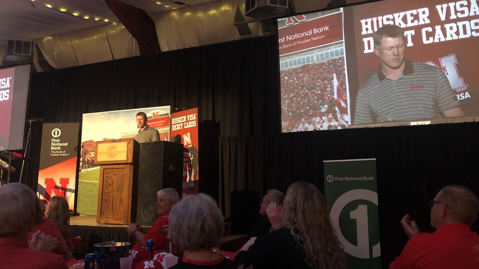 In return to Wood River, Husker coach Frost revels in being 'just Scott'