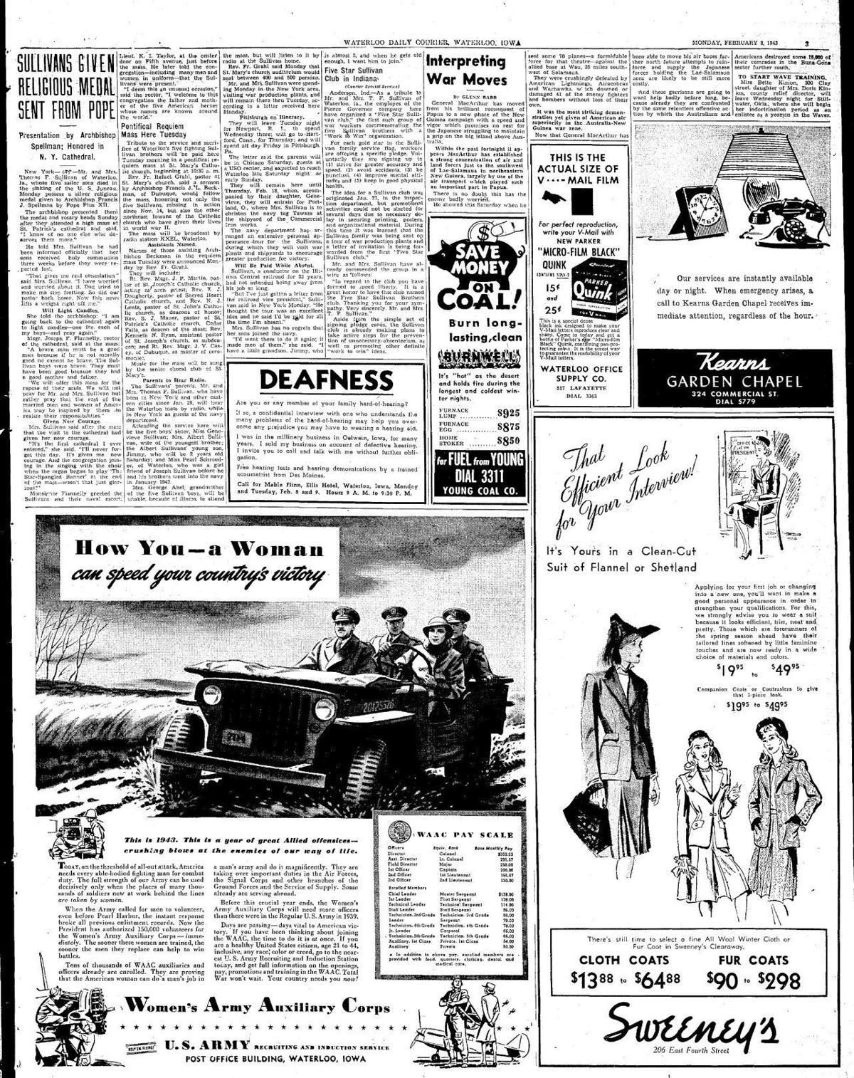 Courier Feb. 8, 1943