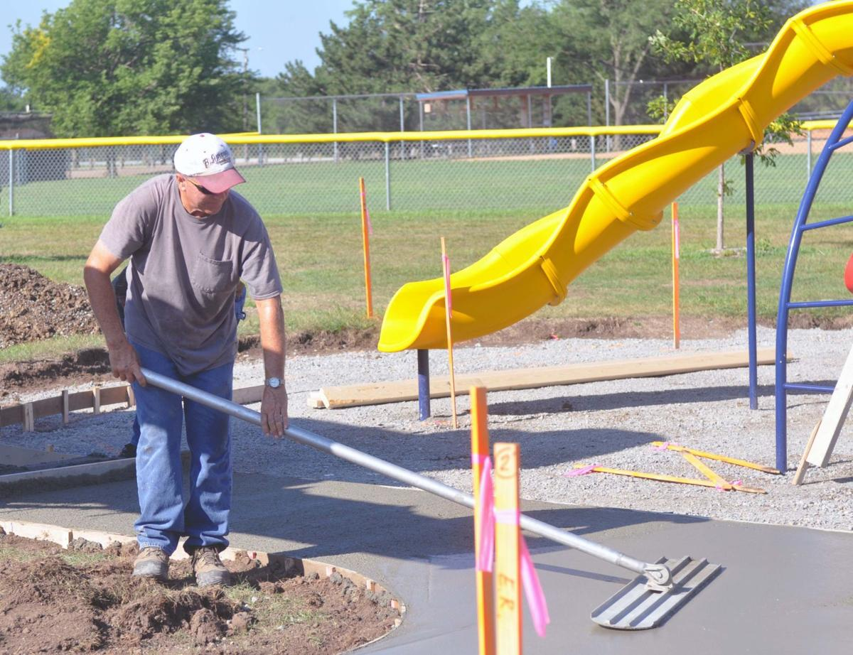 Hannibal Park improvements