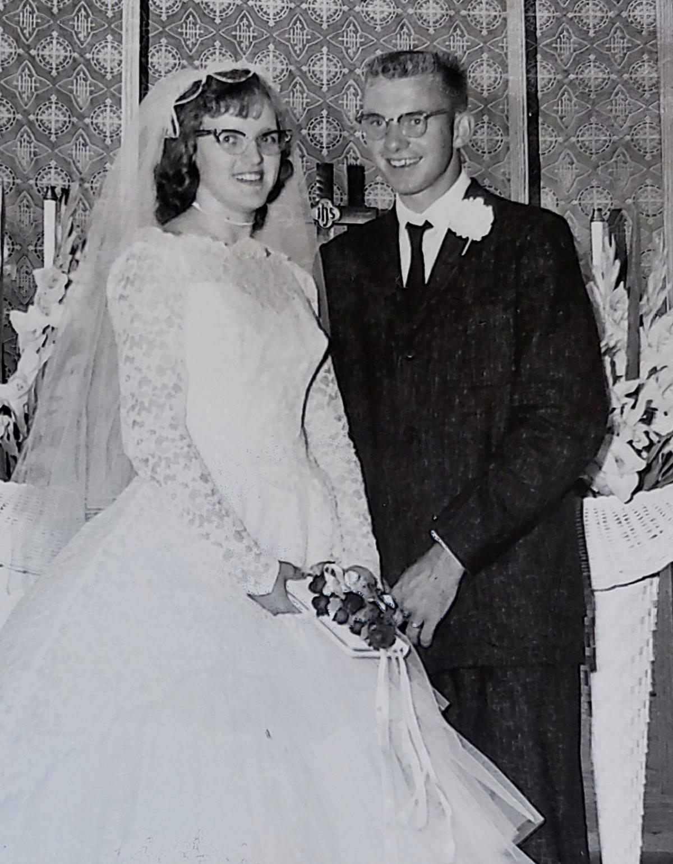 Carol and Bob Allen then