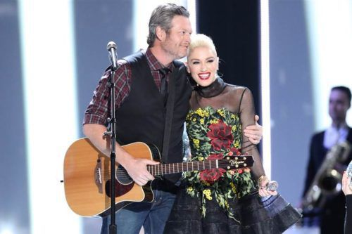 Watch Gwen Stefani And Blake Shelton Sing Their New Christmas Duet On 'The Voice'