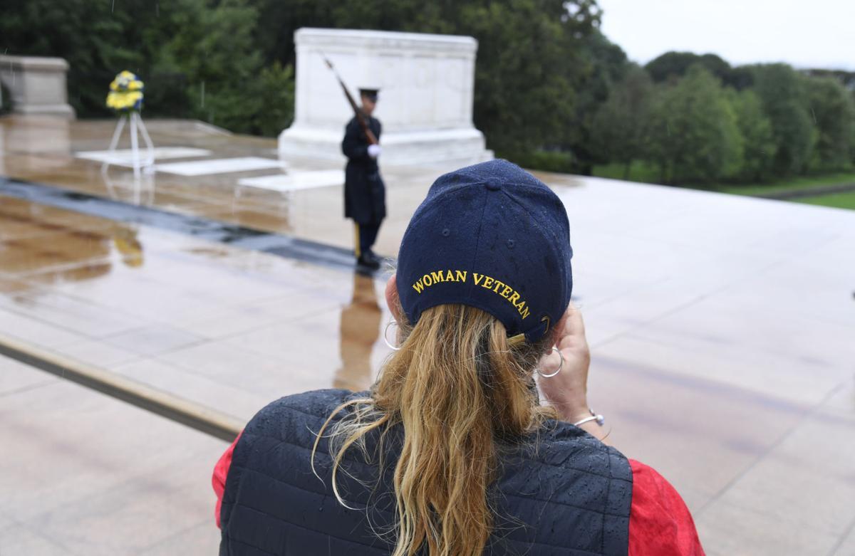 Honor Flights bring Nebraska Female Veterans to tour Washington, DC