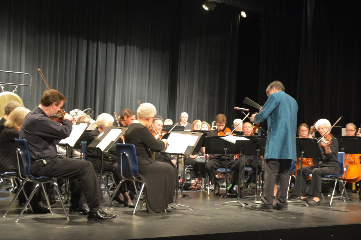 Beatrice Regional Orchestra plays at Beatrice High School