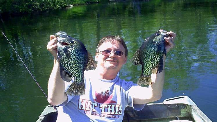 Getting crappie fishing advice from a professional