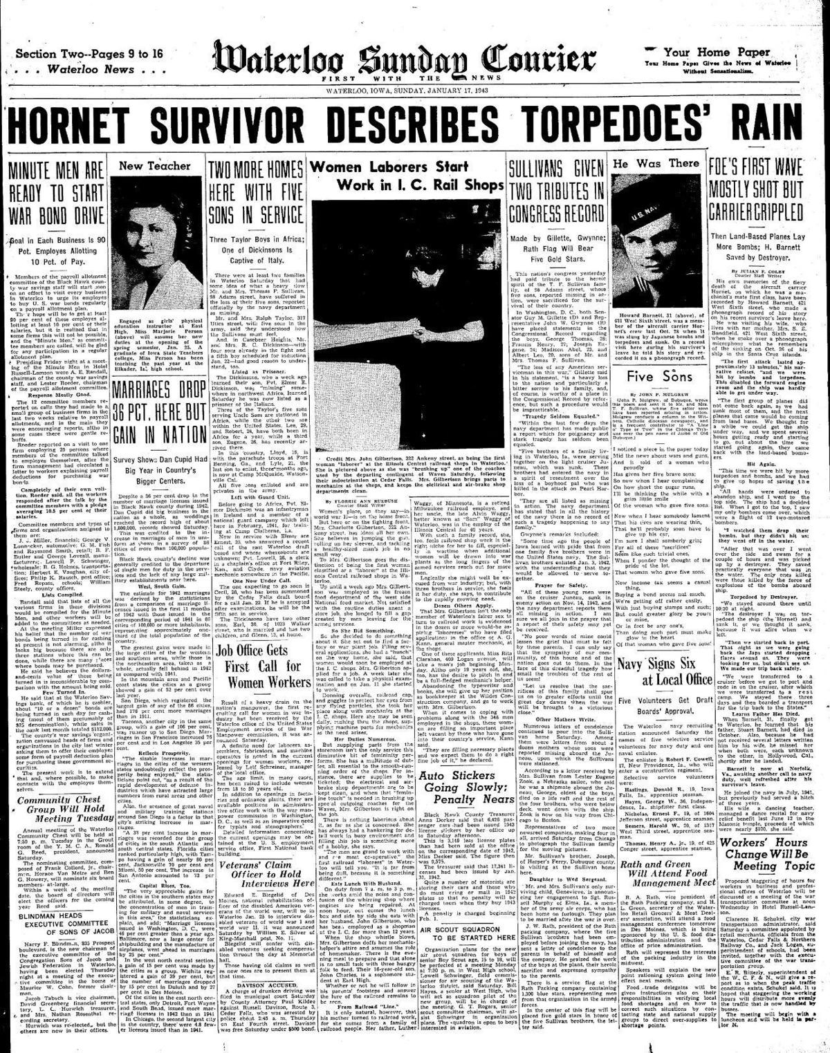 Courier Jan. 17, 1943