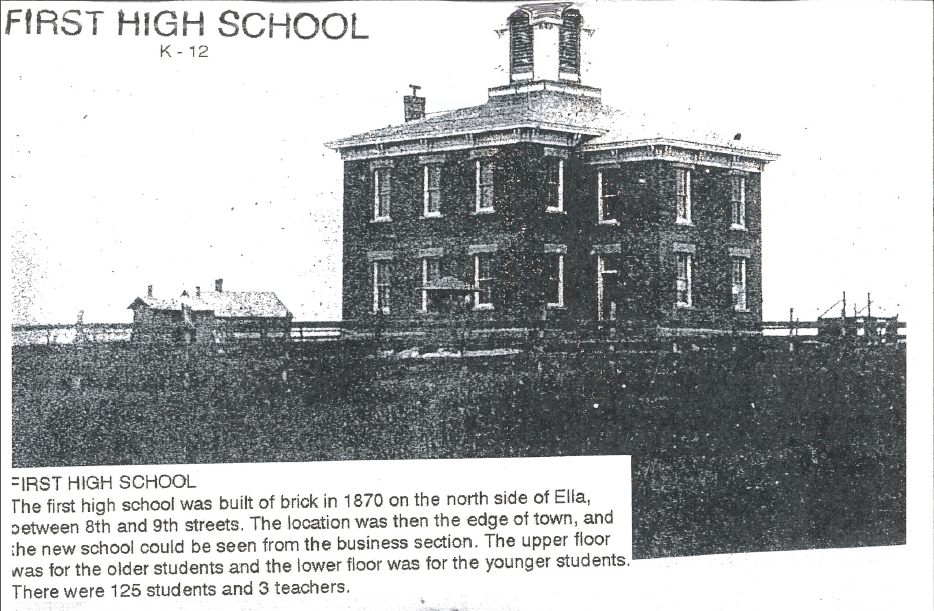 First beatrice high school 1870