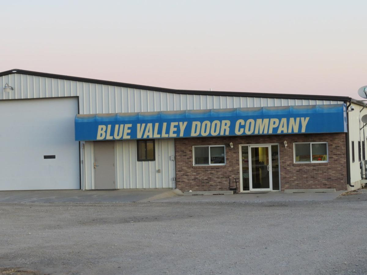 Blue Valley Door
