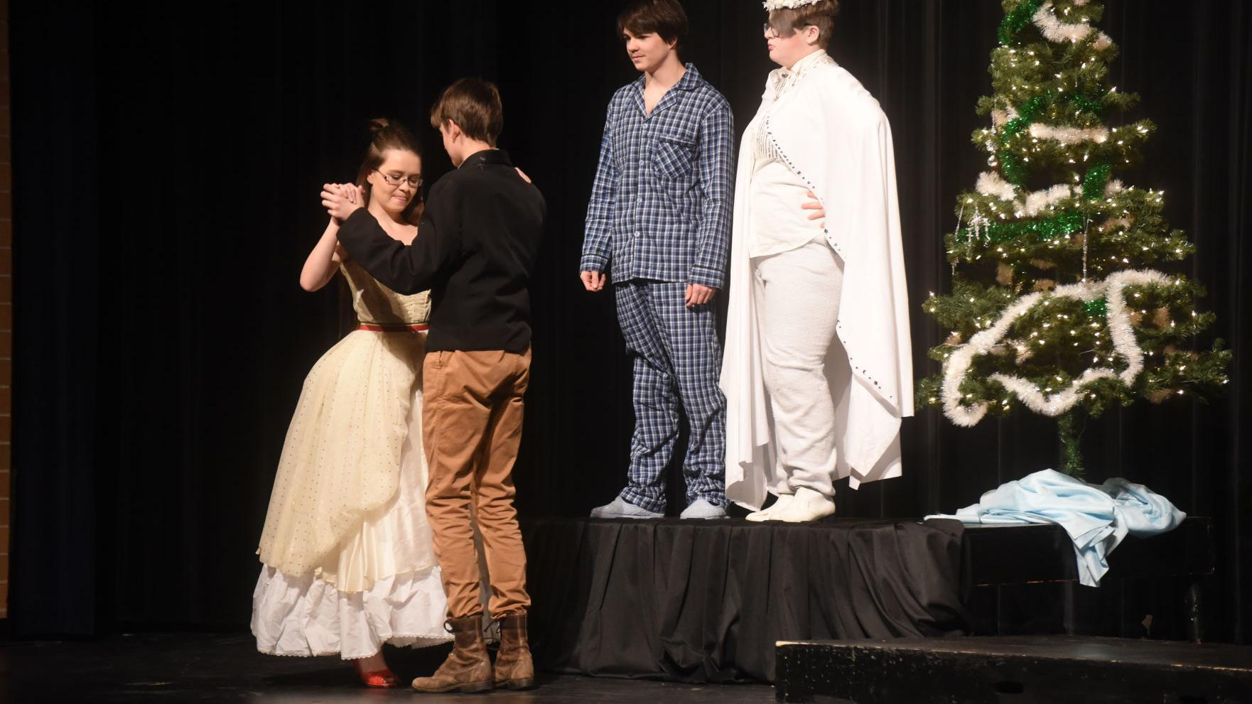 BHS students perform one-act play that spoofs Dickens' Christmas classic