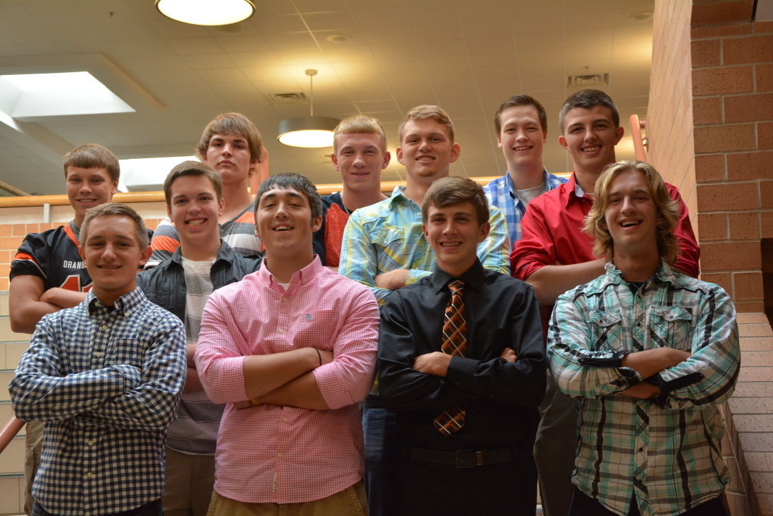 2015 top 10 BHS homecoming king finalists