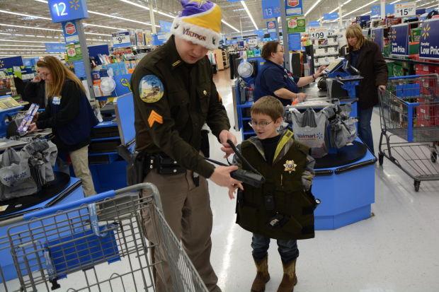 Alec Rosenberger in deputy vest