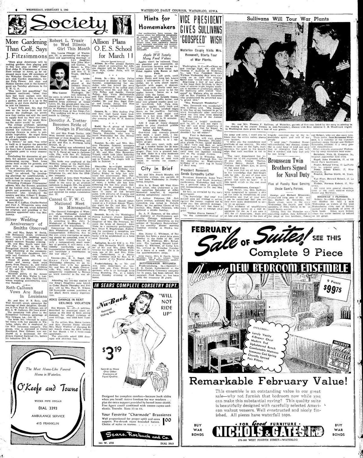 Courier Feb. 3, 1943