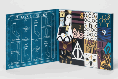 Target Is Selling A Harry Potter Sock Advent Calendar