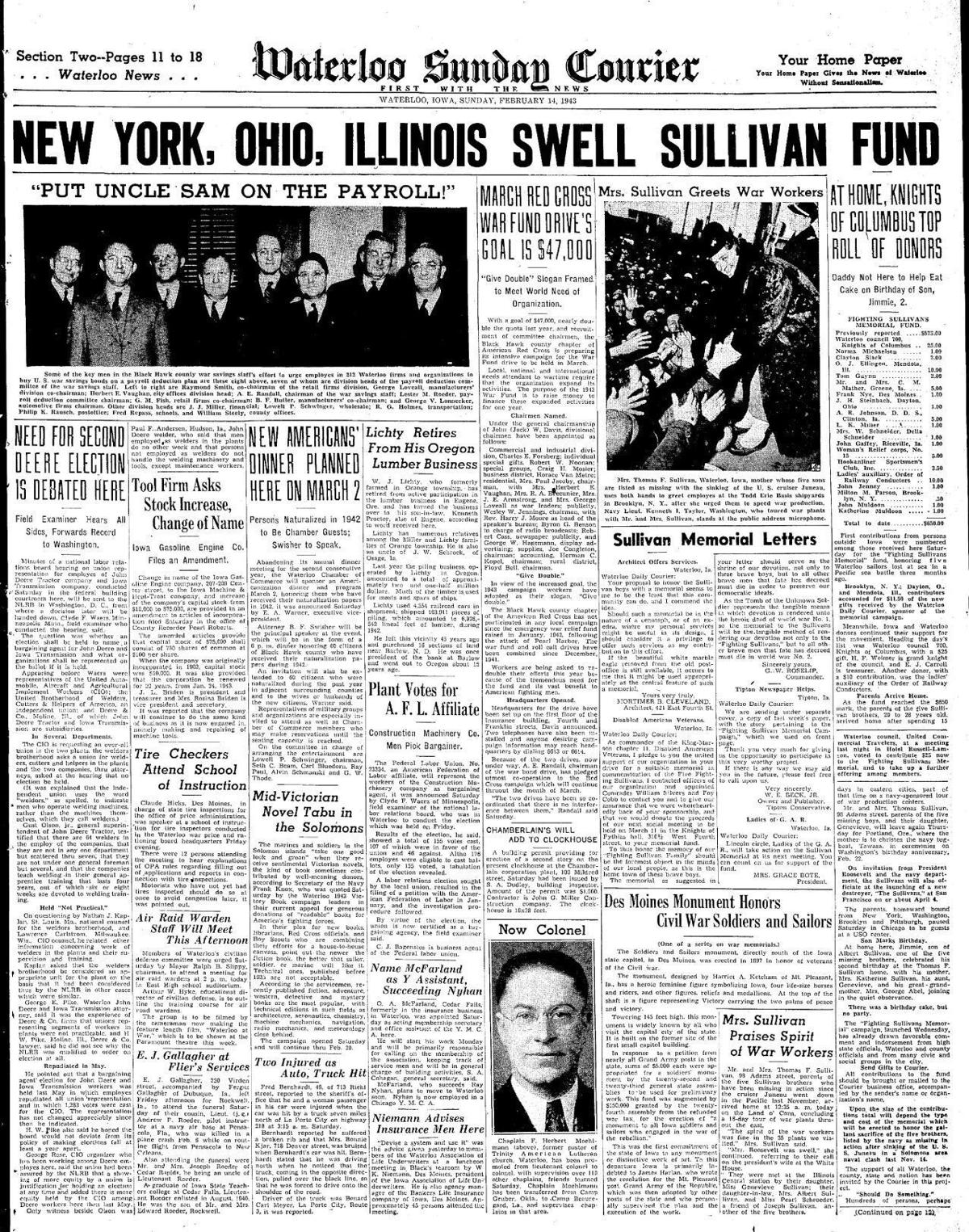 Courier Feb. 14, 1943