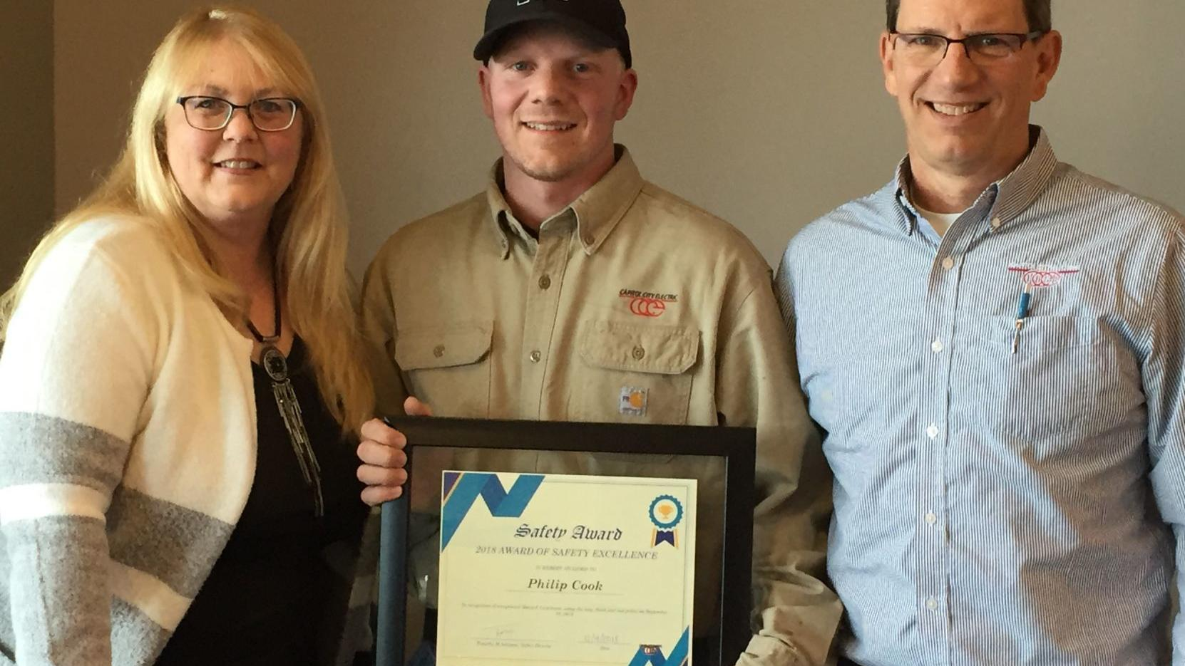 Local man recognized for reporting safety hazard at Iowa fertilizer plant