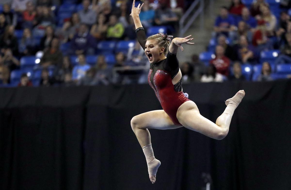 Ncaa Women S Gymnastics Huskers Leave Slow Start Behind
