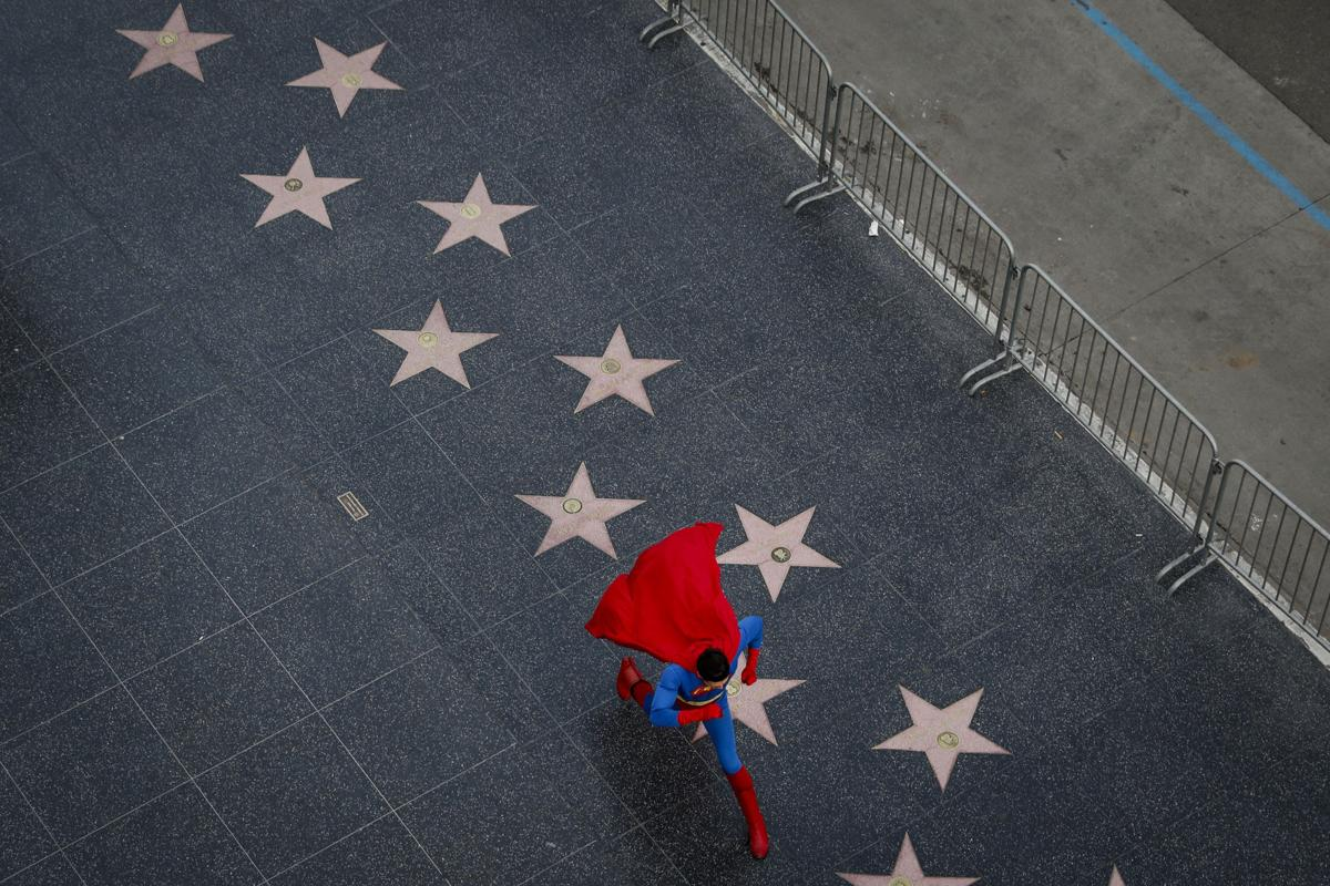 APTOPIX Street Superheroes-Photo Essay