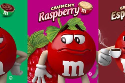 M&M's Is Testing Raspberry, Mint And Espresso Candies, And You Can Vote For The Flavor You Want Them To Keep