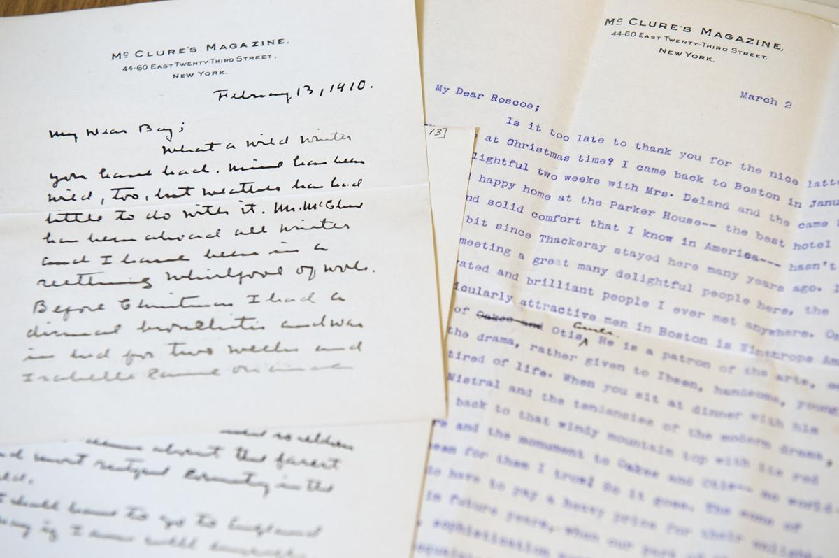 Willa Cather letters