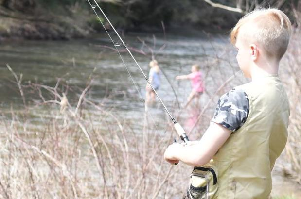 Anglers turn out for first day of season