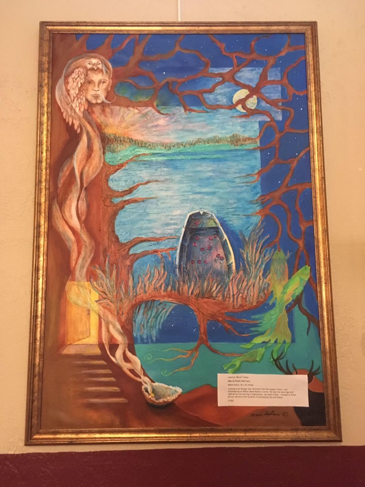 Artists' exhibit opens