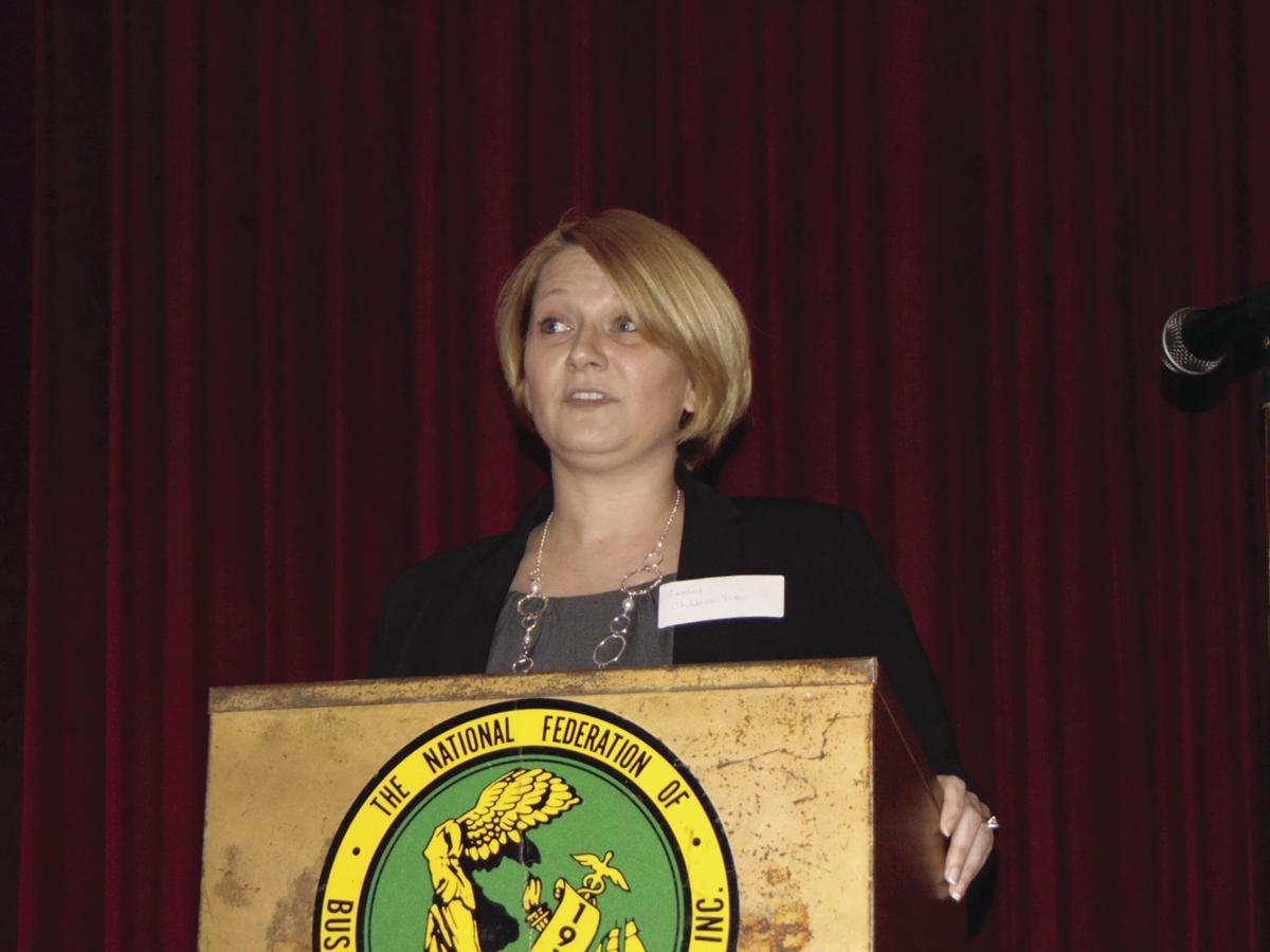 Childers-Pitts addresses BPW