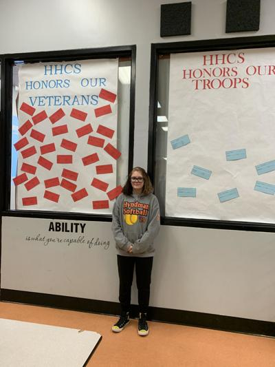 Hyndman teen's senior project honors vets