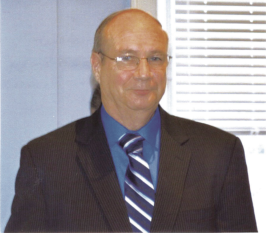 Commissioner candidate Charwin Reichelderfer