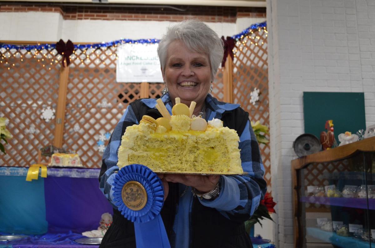 Area baker, square dancers take blue ribbons