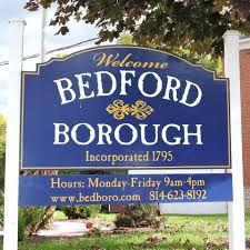 BEDFORD BOROUGH SIGN