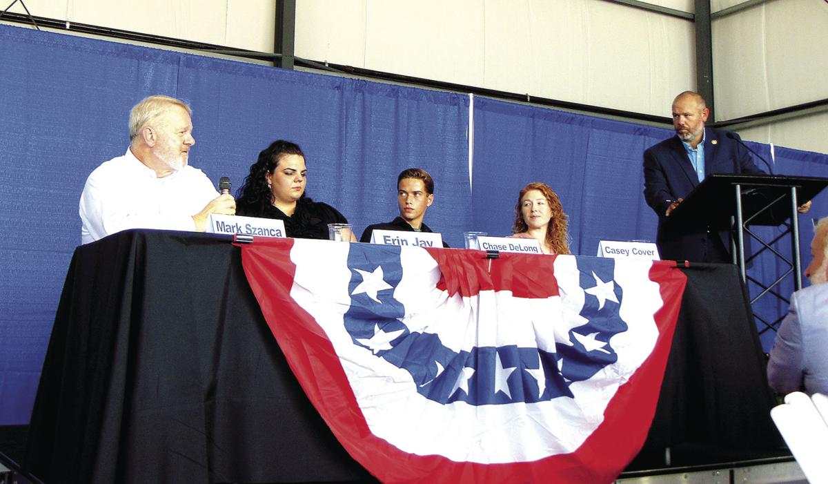 Panelists at Chamber event