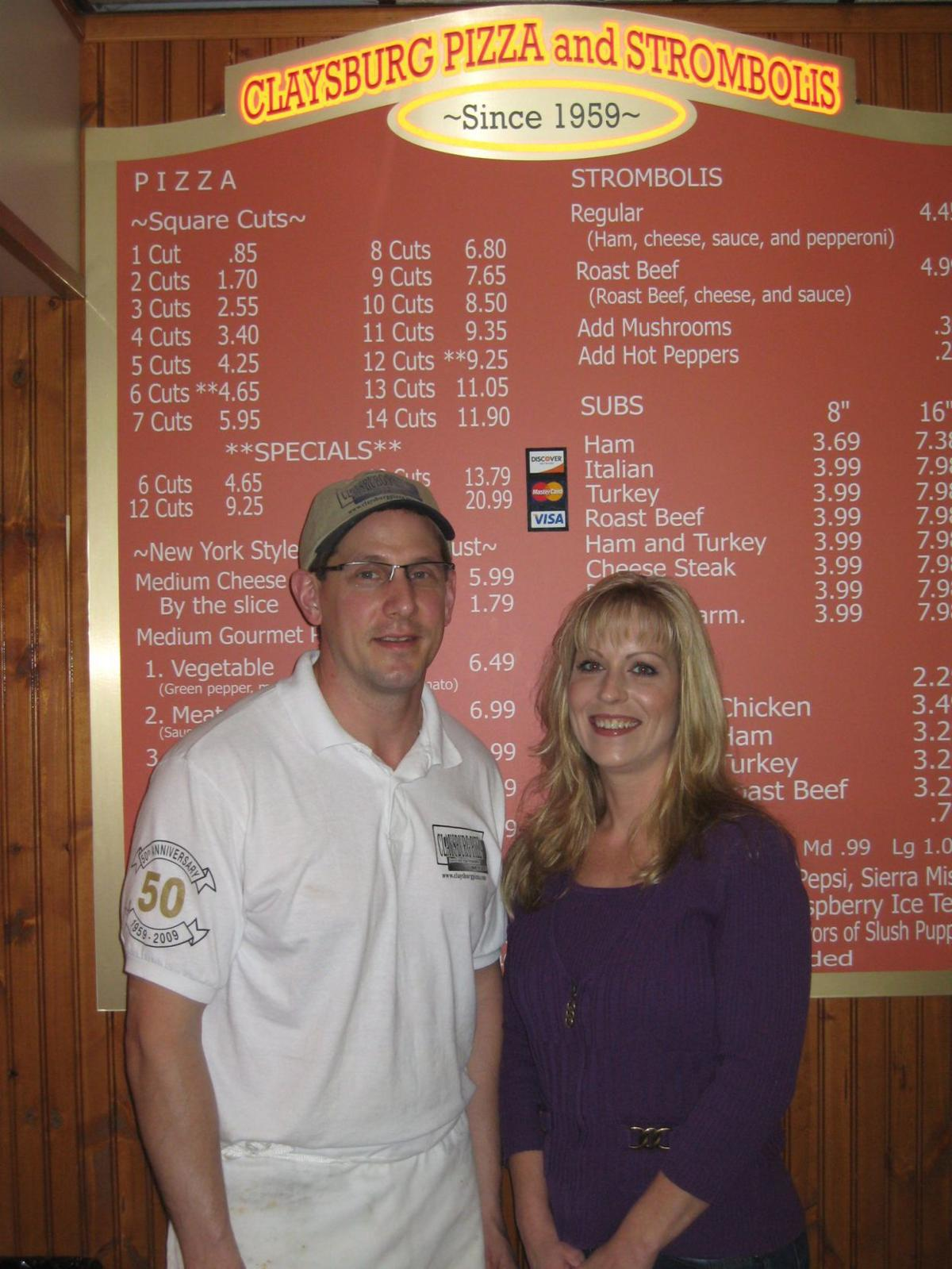 Claysburg Pizza recognized for community contributions