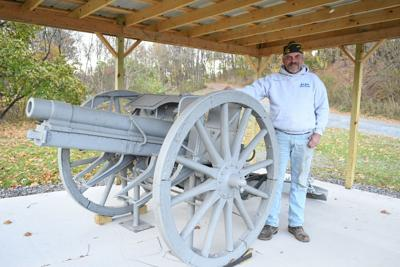 Everett VFW new home to WWI cannon