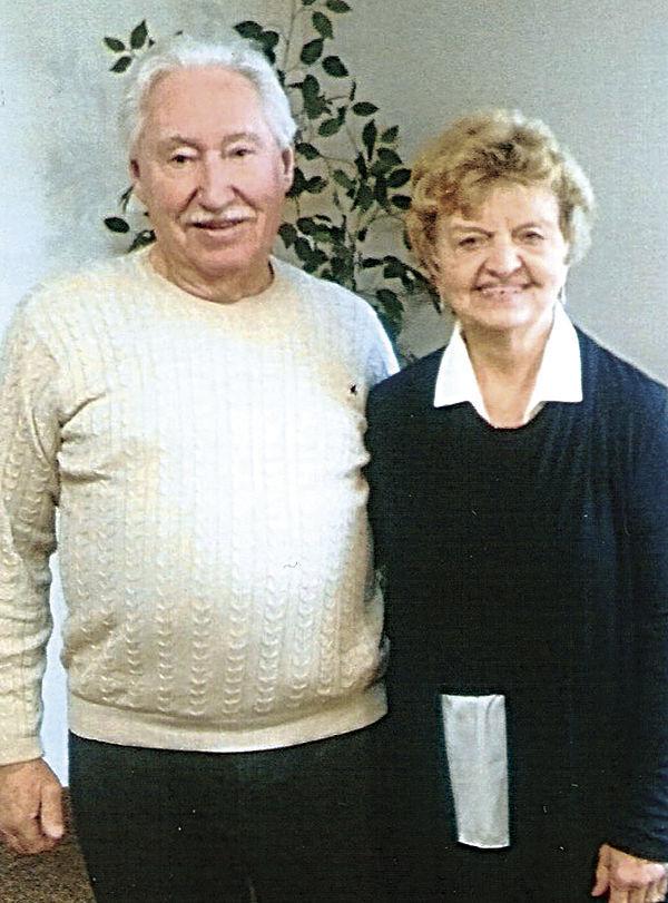 Ray and Carol Evans mark 60th