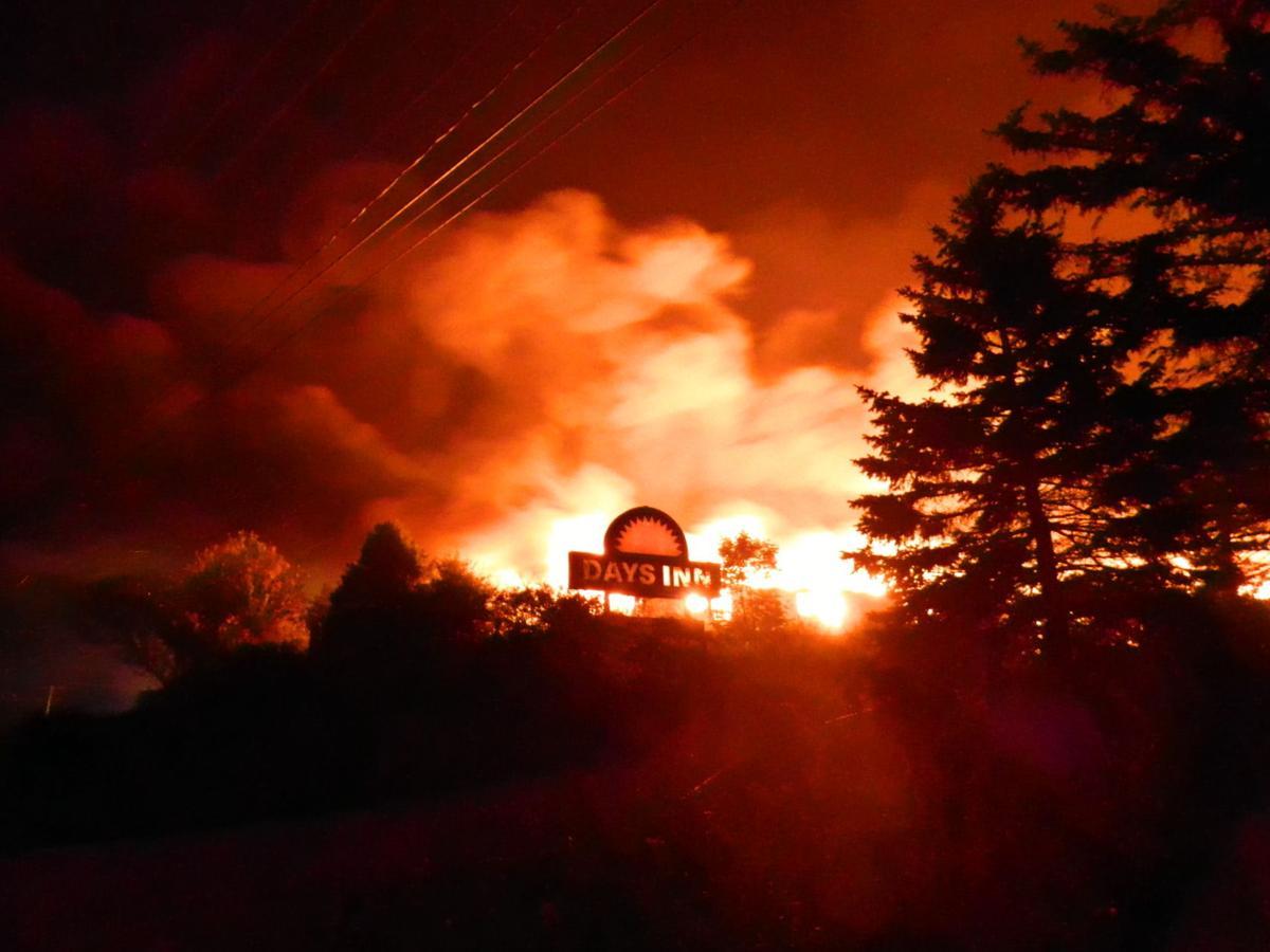 Town Hill fire