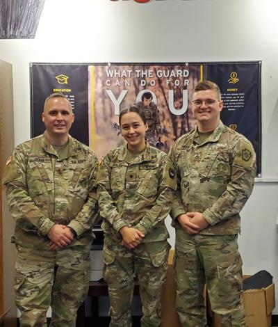 National Guard Recruiters