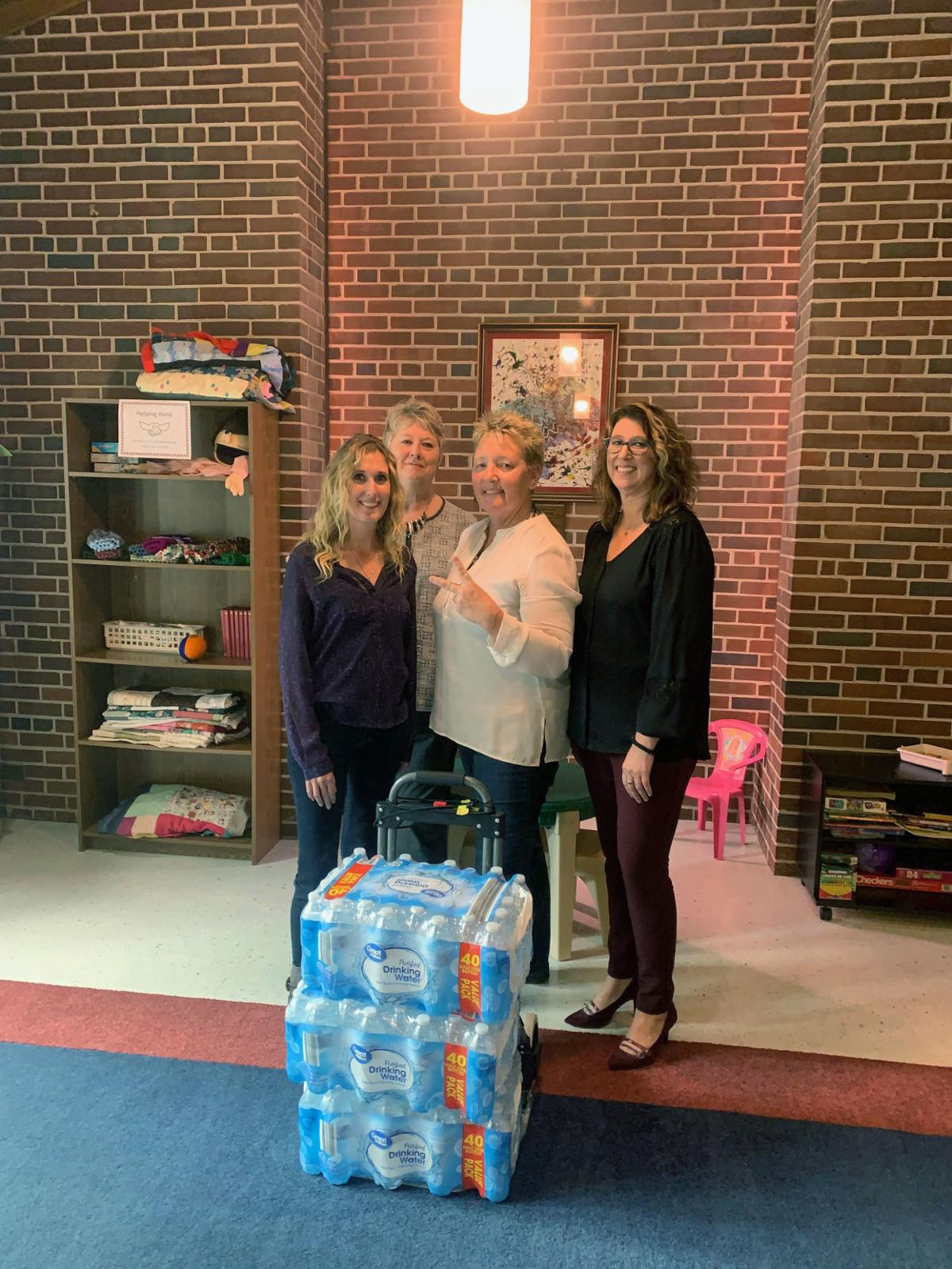 Local organizations donate to First Responders Drive