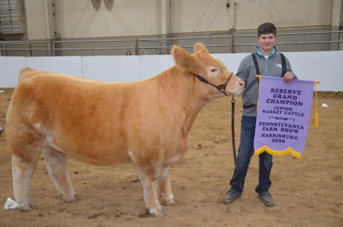Jay shows reserve champ
