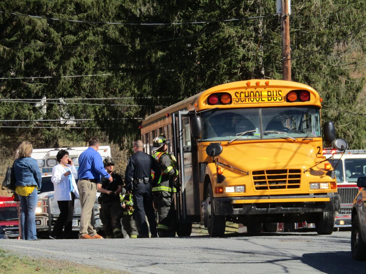 Bedford elementary students evaluated for injuries after bus incident