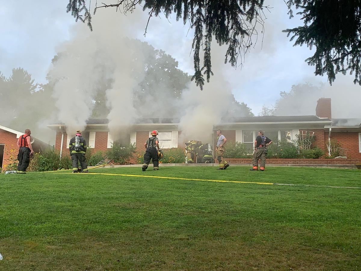 Crews respond to Centerville fire