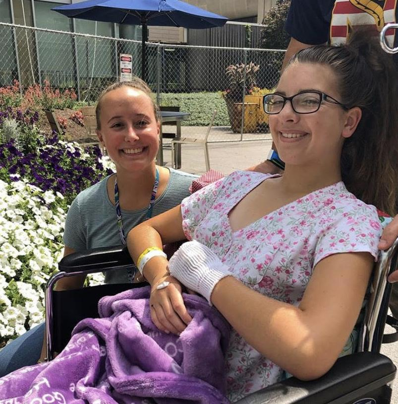 Teen hosts volleyball tournament for scoliosis