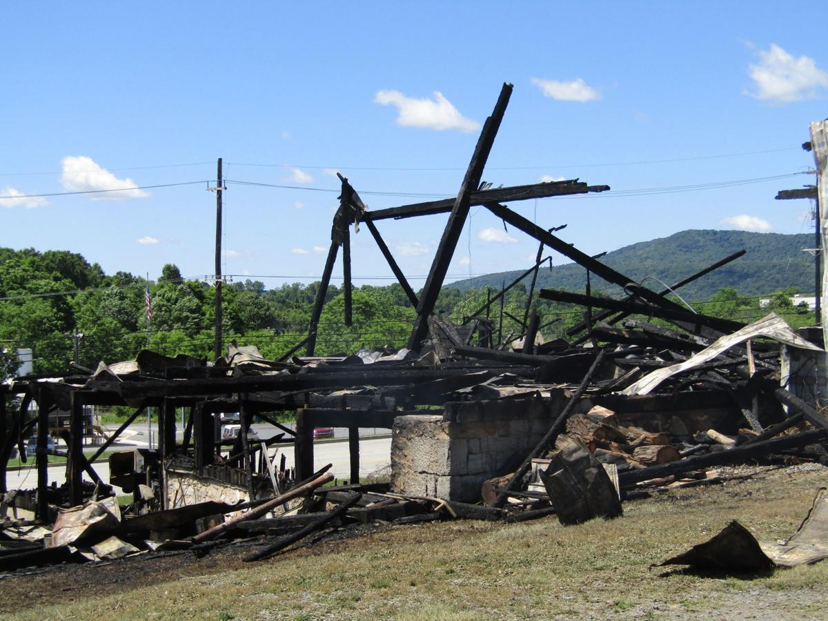 Fire destroys furniture storage barn
